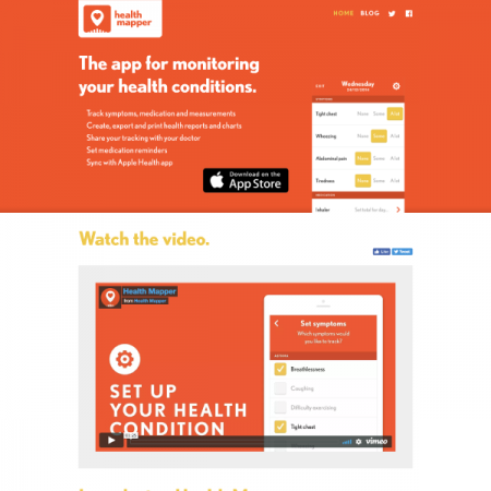 Health Mapper